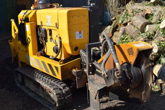 Site Clearance Stump Grinding Sussex Surrey and Kent
