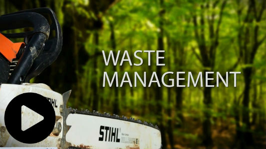 Waste Removal Video Image Play