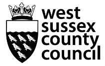 West Sussex CC Logo